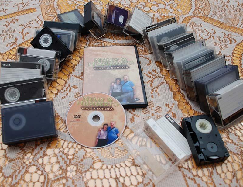 VHSc a DVD