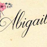 Espejo Mágico – Abigail